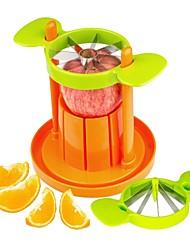 2 in 1 Apple Corer Cutter Orange Fruit Slicer Citrus Wedger Divider Vegetables Cutter Set