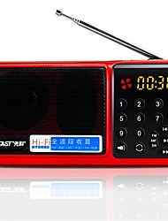 N-520 Radio portable Radio FM Enceinte interne Carte SD