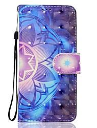 Для samsung galaxy a5 (2017) a3 (2017) телефон случай pu кожа материал мандала шаблон 3d картина телефон случай a510 a310