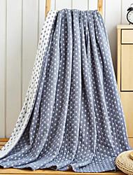 Супер мягкий Геометрические линии Хлопчатобумажная ткань одеяла