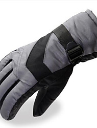 Motorcycle Gloves Thickening Warmth Plus Velvet Cold Cotton Gloves Electric Car