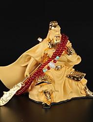 Diy ornements automobiles dieu de la richesse bénédictions guan yu pendentif voiture&Résine ornements