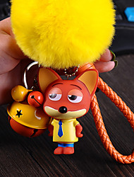 Bag / Phone / Keychain Charm Jingle Bell Cartoon Toy Fur Ball Phone Strap PVC