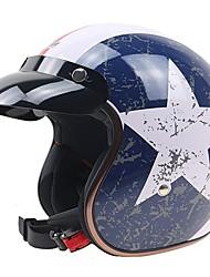 Half Helmet Durable Antiskid Impact Resistant ABS Motorcycle Helmets