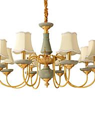 All Copper Chandelier Jade DecorativeLiving Room Chandelier KP8