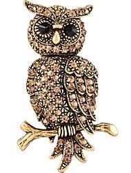 Femme Broche Animal bijoux de fantaisie Alliage Forme d'Animal Chat Bijoux Pour Décontracté Soirée Rendez-vous Nouvelle Année