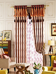 Curtain Modern/Comtemporary , Other Material Blackout Curtains Drapes Home Decoration For Window