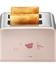 Bread Makers Toaster Stainless Steel For Home Easy To Use Adjustable Power Modes Reservation Function 220V