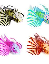Decorazioni Acquario Pesce finto Luminoso Silicone