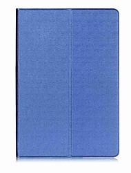 Caja de cuero de la PU del patrón del color sólido con el soporte para el mediapad huawei t3 10.0 PC de la tableta de 9.6 pulgadas