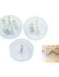 1 Horneando Herramienta para hornear / Nueva llegada / Gran venta Galleta Plástico Utensilios para hornear y pasteles