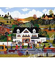 Jigsaw Puzzle Toys House Horse Unisex Pieces