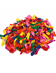 500 Piece / Set 3 inches  Birthday Decoration Ballons Party Wedding Decoration Assorted Bright Color Latex Water Balloons