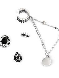 1Set Women's Stud Earrings Drop Earrings Earrings Set Tassel Fashion Vintage Bohemian Personalized Alloy Jewelry For Stage Date Club Street
