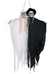 Halloween Ghost Ghost House Decoration Props Electric Ghost Groom Bride Hanging Ghost Pendant