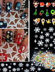 24 Стикер искусства ногтя Other макияж Косметические Ногтевой дизайн