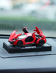 DIY Automotive Ornament Car Model Sound Glowing Car Pendant & Ornaments Alloy Plastic