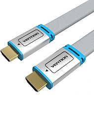 VENTION HDMI 2.0 Cable, HDMI 2.0 to HDMI 2.0 Cable Macho - Macho 1080P Cobre dorado 10.0M (30 pies)