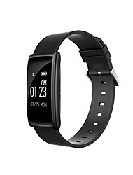 Men's Smart Watch Digital Silicone Band Black