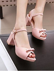 Women's Sandals Comfort PU Summer Casual Blushing Pink Black White 2in-2 3/4in