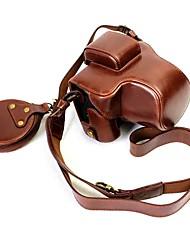 Dengpin pu кожаный чехол для сумки для канона eos m5 15-45 мм объектив (различные цвета)