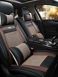 Le nouveau siège d'auto coussin housse de siège en cuir quatre saisons de glace générale autour de cinq sièges à 2 assise appuie-tête