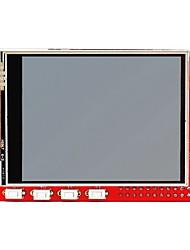 """2.8 """"TFT 320 240p сенсорный дисплей модуль для Raspberry Pi В + / В - красный"""