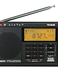 TECSUN PL-600 Radio Full-Band Shortwave Digital Frequency Conversion Stereo Semiconductor