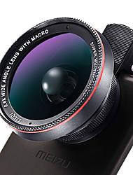 Lensqiq del telefono mobile di lq-025 di lieqi 0.6x wide angle 10x macro 58mm di diametro grande