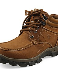 Для мужчин Спортивная обувь Удобная обувь Зимние сапоги Ботильоны Формальная обувь Обувь для дайвинга Флисовая подкладка ЗимаНатуральная