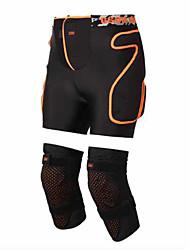Gsou Snow GSH008 Motorcycle Protector Suit Veneer Double Board Hoodie Knee Wear Adult Pony Pants