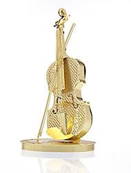 Набор для творчества 3D пазлы Пазлы Игрушки Скрипка Музыкальные инструменты 3D Универсальные Куски