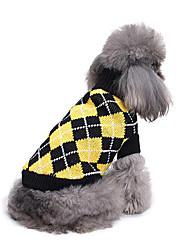 Cane Maglioni Abbigliamento per cani Casual Geometrico