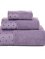 Bath Towel Set,Polka Dot High Quality 100% Cotton Towel