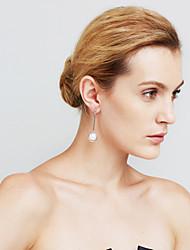 Femme Boucles d'oreilles Perle imitée Sexy Mode euroaméricains Bijoux Movie Cuivre Forme de Cercle Bijoux PourSoirée / Fête Quotidien