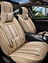 Le nouveau siège d'auto coussin housse de siège en cuir quatre saisons de glace générale entourée de cinq sièges de voiture familiale