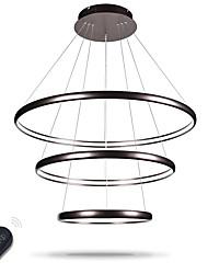 Chandelier regulable led iluminación interior techo moderno techo luces candelabros luminarias con mando a distancia