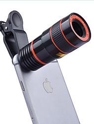 Donews 12x lunga focale telescopio lente fotocamera smartphone lenti 0,65x grandangolo 10x macro occhiali da vista per il iphone huawei