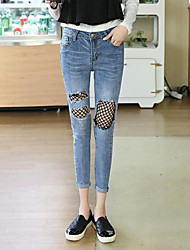 Women's High Waist High Elasticity Skinny Pants,Sexy Slim Solid
