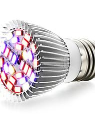 8W E27 Luci LED per la coltivazione 28 SMD 5730 800 lm Bianco caldo Rosso Blu Lampada UV (a ultravioletti) V 1 pezzo