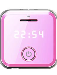 MP3 WMA WAV FLAC APE Bateria Li-on Recarregável