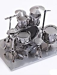 Quebra-cabeças Quebra-Cabeças de Metal Blocos de construção Brinquedos Faça Você Mesmo kit de bateria Liga