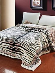 Flanelle Zébré Coton couvertures