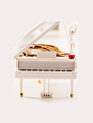 Music Box Toys Piano Female 1 Pieces