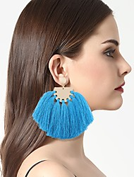 Women's Drop Earrings Tassel Alloy Jewelry For Wedding Party Daily Evening Party Stage Going out