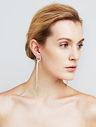 Femme Boucles d'oreilles Perle imitée Imitation de diamant Sexy Mode Personnalisé euroaméricains Bijoux Movie Bijoux Fantaisie Cuivre