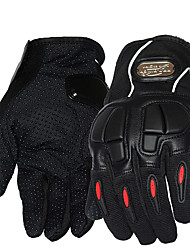 1 Pair Carbon Fiber Bike Motorcycle Gloves Outdoor Sports Cycling Racing Driving Gloves Motociclet Full Finger Glove