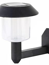 5004b 1led chapeau noir chapeau lampe murs lampe de jardin lampe murale charge automatique contrôle de la lumière