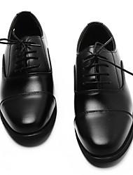 Homme Chaussures PU de microfibre synthétique Printemps Automne Confort Semelles Légères Chaussures formelles Oxfords Lacet Pour Mariage
