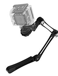 Asj gopro held kamera zubehör aluminium legierung fach handheld selfie stick